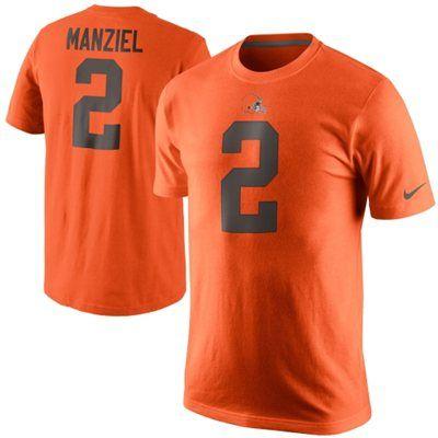 johnny manziel jersey orange