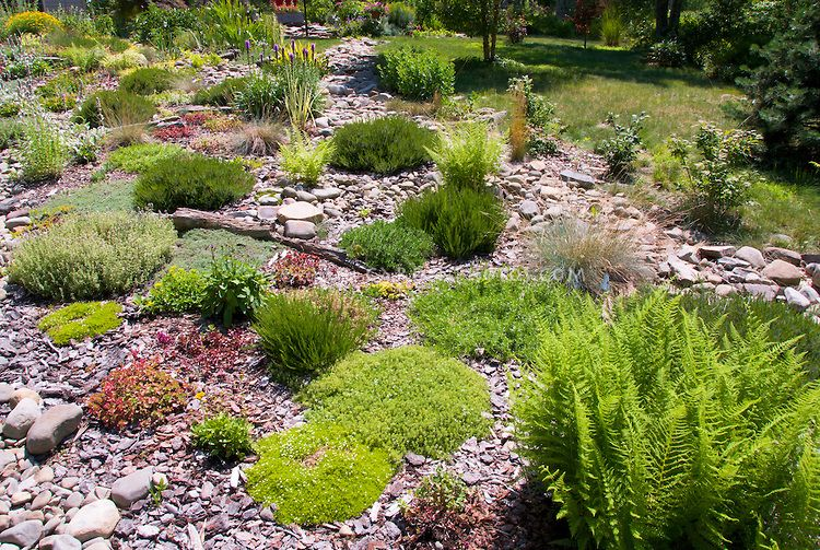 Alpine Garden Design Exterior Endearing Design Decoration