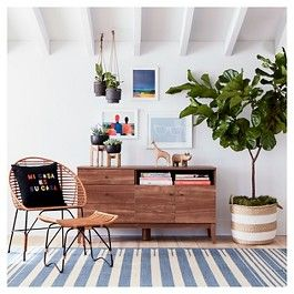 Targetu0027s Threshold Home Decor Gets Funky Fresh For Summer. Bright Colors.  Plants. Wooden