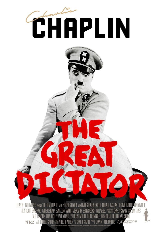 The Great Dictator Film, Film afişleri ve Sinema