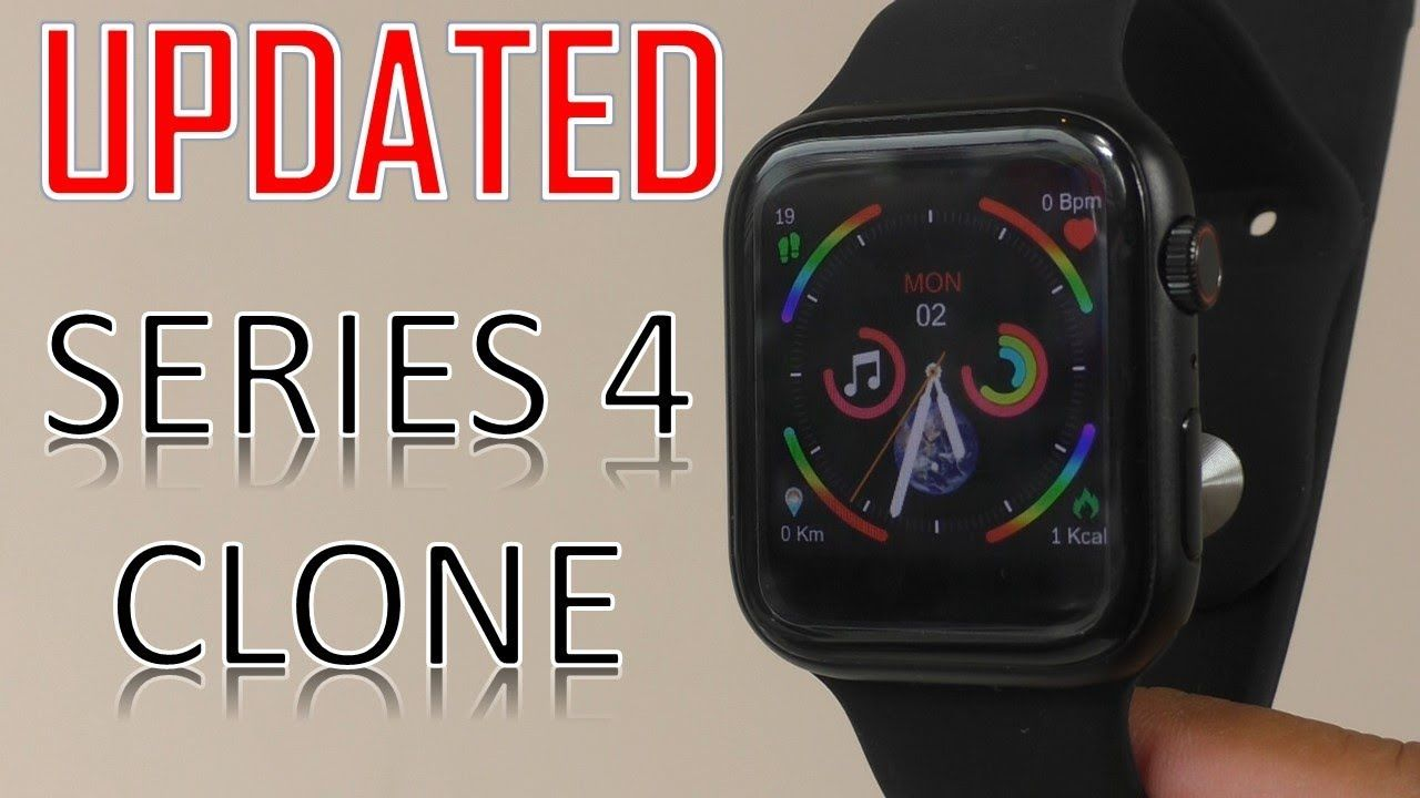 Smart Watch A Better CLONE Series 4 Smartwatch I6 Smart