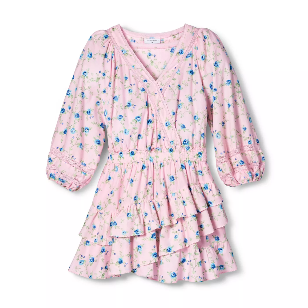 Women S Esme Wrap Dress Loveshackfancy For Target Regular Plus Light Pink Target Wrap Dress Fashion Women [ 1000 x 1000 Pixel ]