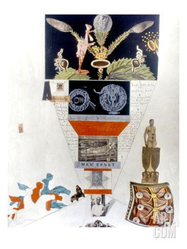 Ernst: Manifest Dada Giclee Print by Max Ernst at Art.com
