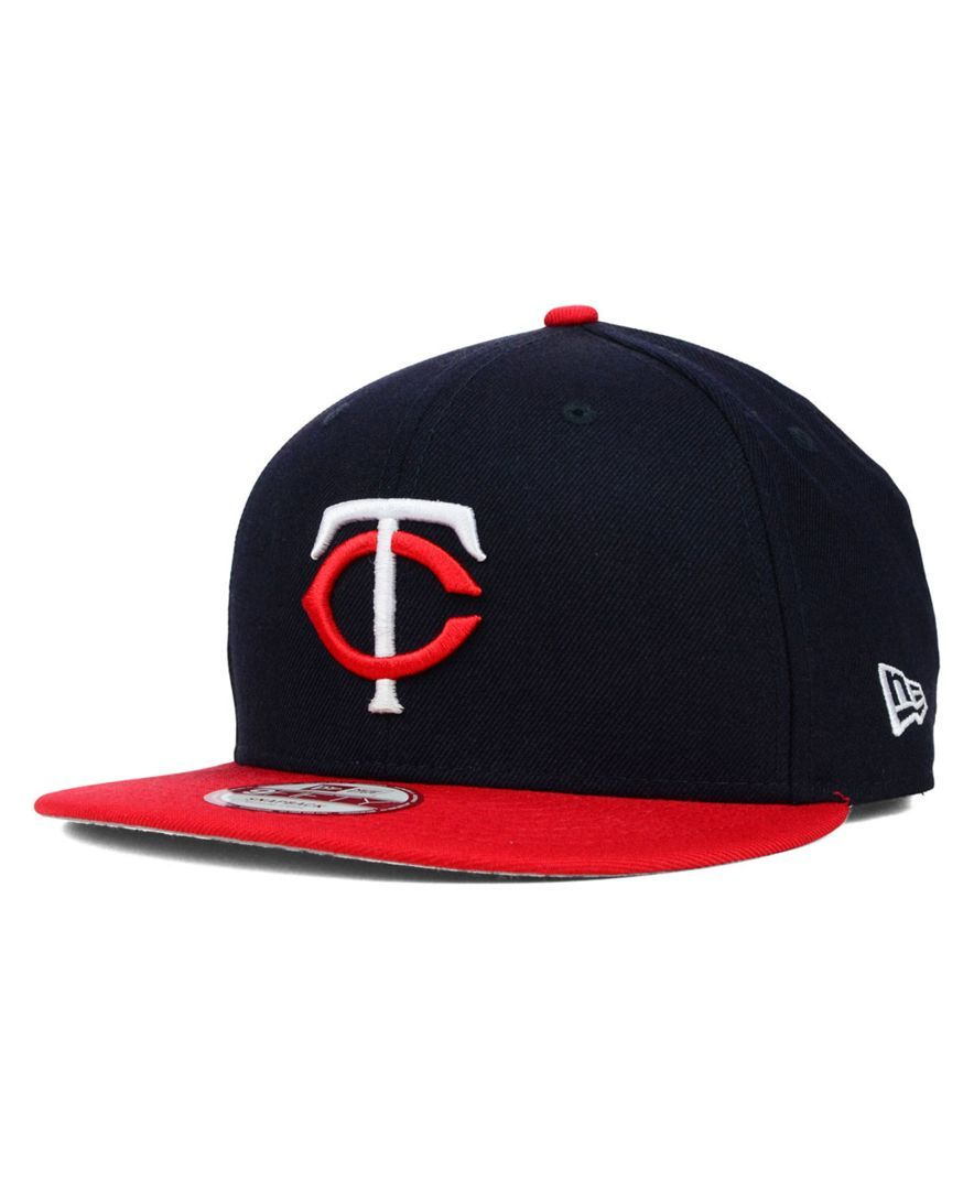 finest selection 84427 69ff3 New Era Minnesota Twins 2 Tone Link 9FIFTY Snapback Cap
