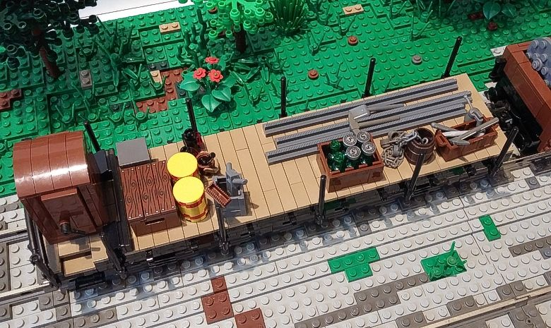 g terwagen lego waggon s pinterest lego ideen lego und lego bauen. Black Bedroom Furniture Sets. Home Design Ideas