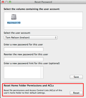 Resetting User Account Permissions Can Fix Many Common