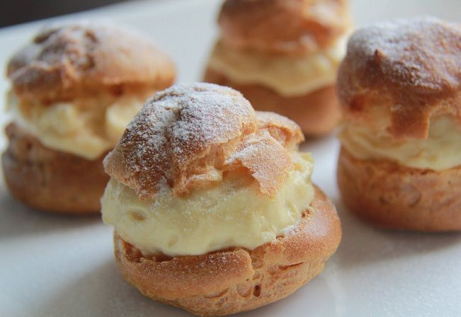 Resep Durian Cream Puff Di 2019 Resep