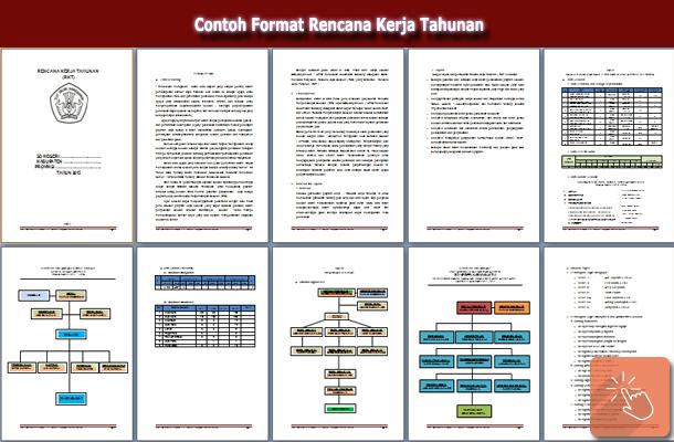 Contoh Format Rencana Kerja Tahunan Sekolah Sekolah Microsoft