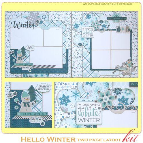 Paisleys and Polka Dots-Scrapbook Layouts, Mini Albums and Paper Craft
