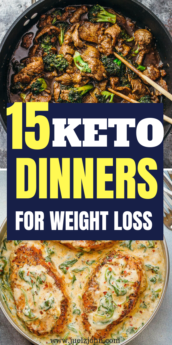 Easy Keto Dinner Recipes: 15 low carb meals that will help you stay in ketosis images