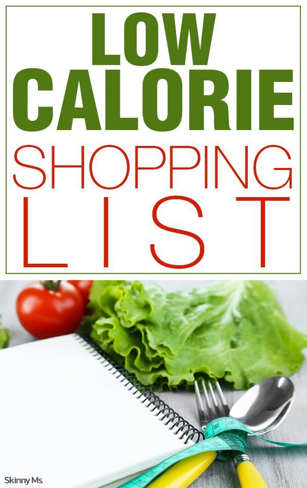 Low Calorie Shopping List With Images No Calorie Foods Low