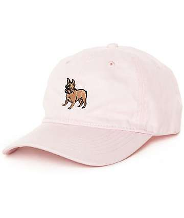 3b502d6f262 Dog Limited French Bulldog Pink Dad Hat
