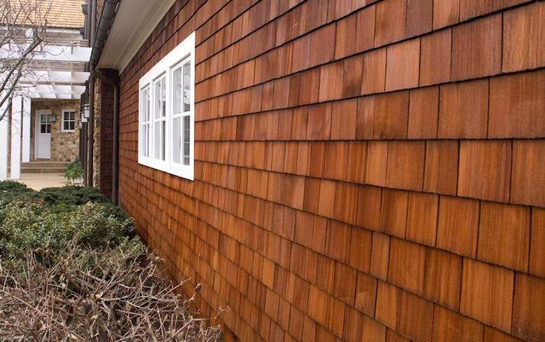 Wood exterior texture boutique hotel project in 2019 pinterest cedar siding exterior and for Exterior cedar siding stain colors
