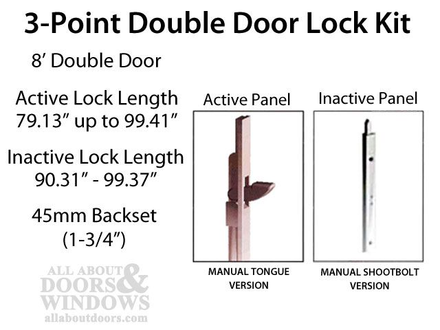 lock for double doors google search