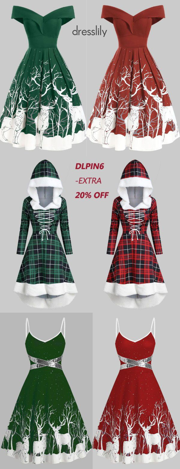 Christmas Dresses for Women | Christmas Party Dresses