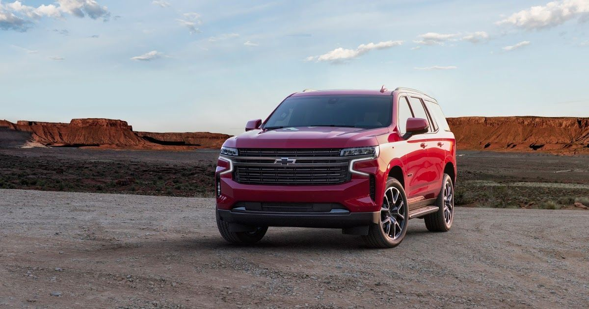 2021 Chevrolet Tahoe - Overview and production stages ...