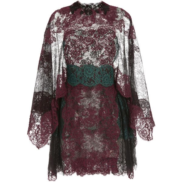 Valentino Lace Capsleeve Dress With Lace Capelet (41.255 BRL) ❤ liked on Polyvore featuring dresses, valentino, nero, lace dress, cap sleeve cocktail dress, sheer dress, a-line dresses and a line cocktail dress