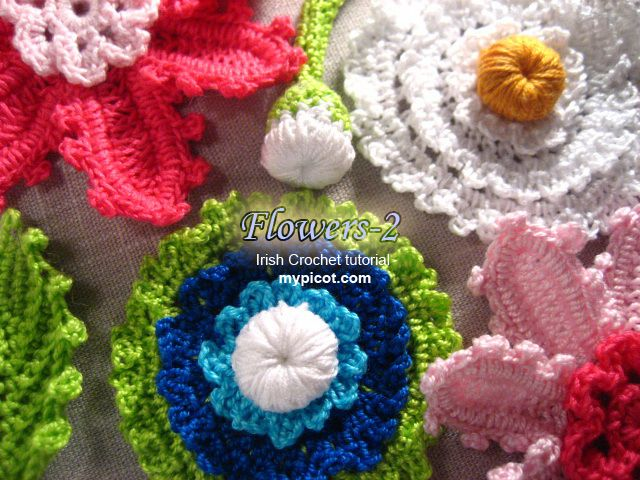Free Irish Crochet Patterns Tutorials Freeform Crotchet