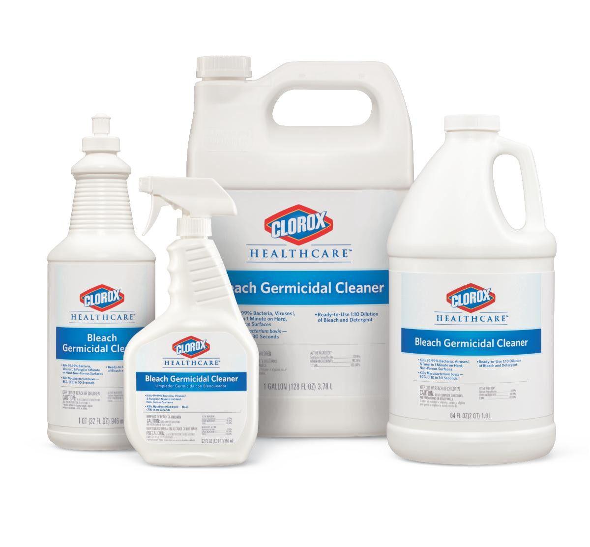 Bleaching powder for cleaning bathroom - Clorox Healthcare Bleach Germicidal Cleaner