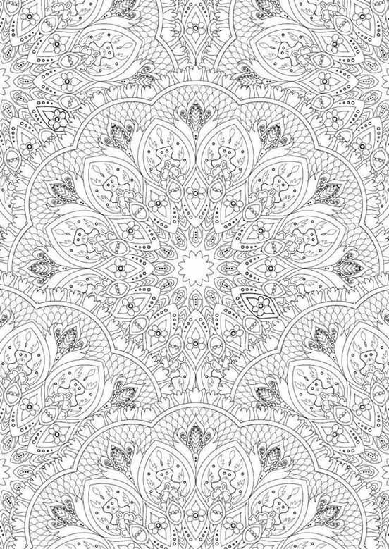 Pin On Colorir Mandala