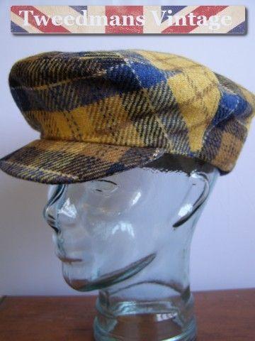 Vintage Tweed Flat Cap  9c1344f83c4d