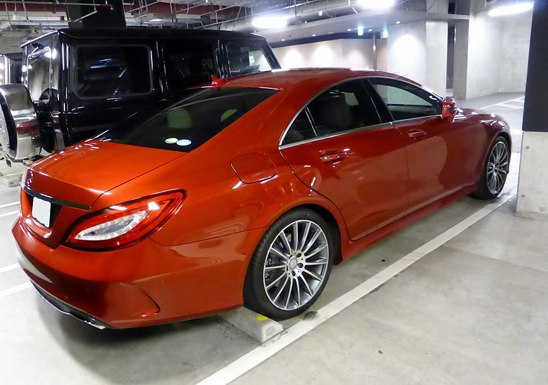 Mercedes Benz CLS550 C218 Rear