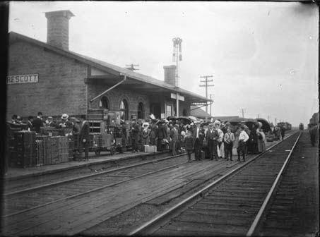 Prescott Railway Station Grand Trunk Prescott