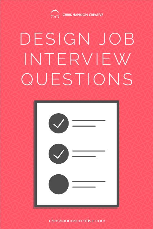 Preparing For Design Job Interview Questions Webdesignquestions Web Design Jobs Web Design Portfolio Web Design
