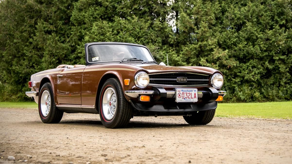 73 triumph tr6 roadster w overdrive give me a brit over a german car any day dream garage pinterest cars sports cars and british car