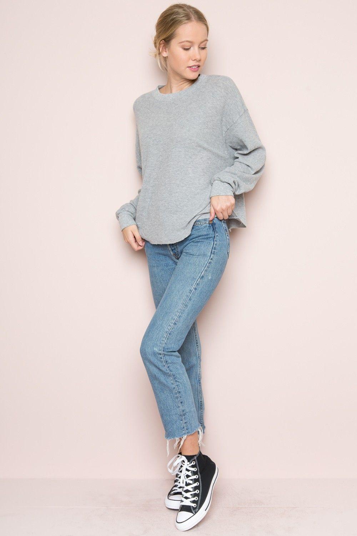 Brandy ♥ Melville | Acacia Thermal Top - Tops - Clothing ...