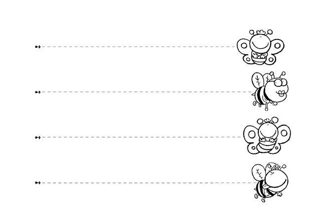 Trazos Verticales Y Trazos Horizontales Grafomotricidad Fichas Ninos De 3 Anos