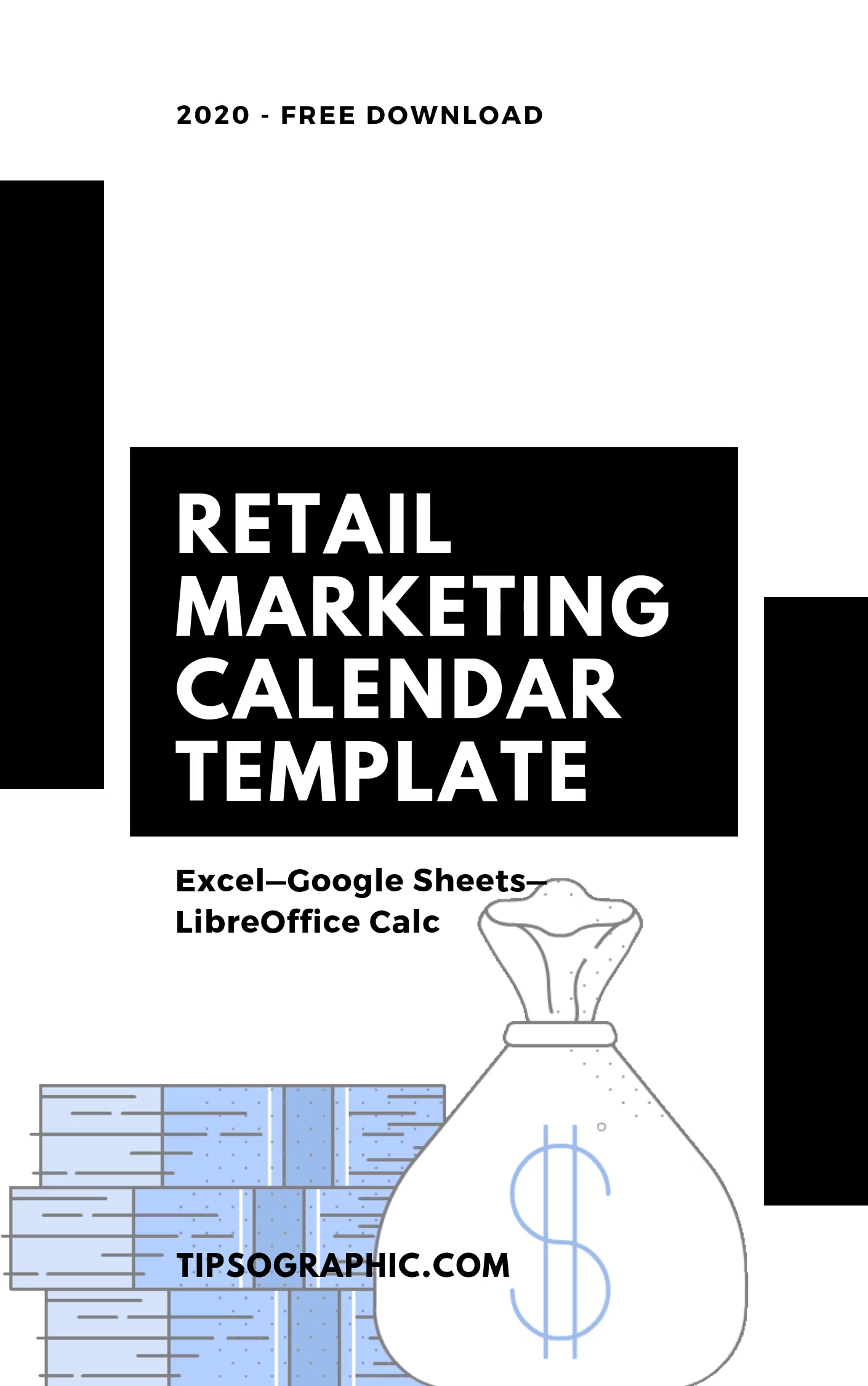 Retail Calendar 2022.Retail Marketing Calendar Template For Excel Free Download 2020 2021 2022 Tipsographic Video Video Marketing Calendar Template Marketing Calendar Social Media Calendar Template