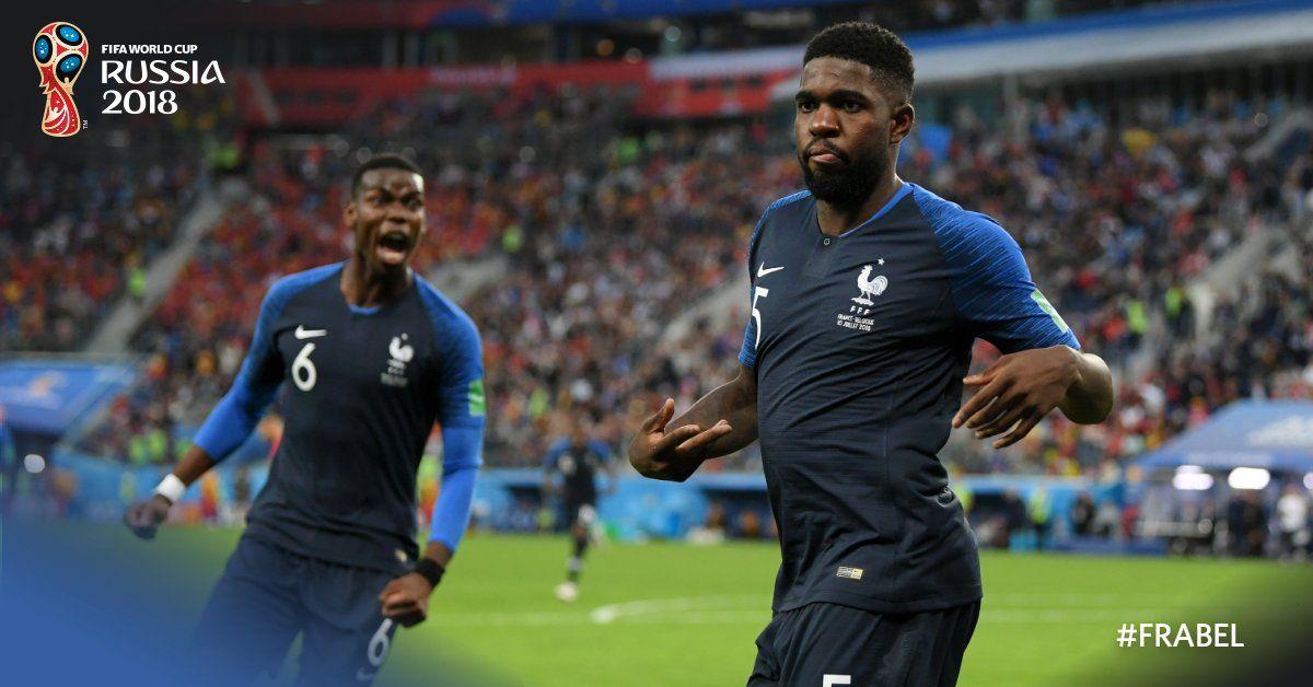 Fifa Worldcup France Vs Belgium Trending Songs Football