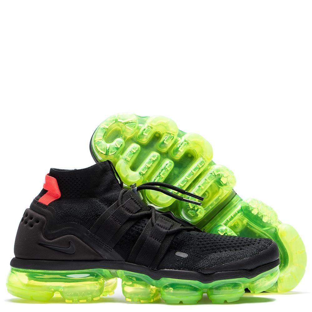 0583e77aadd3 Nike Air Vapormax Flyknit Utility Black   Volt