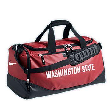 323a449215 WSU Nike Duffel- The Washington State Nike Team Training Max Air medium  duffle bag offers