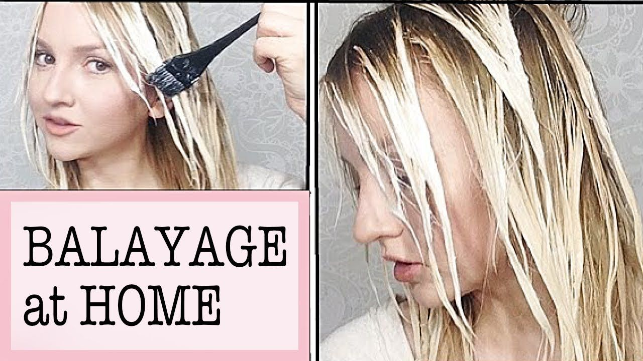 Balayage At Home How To From Youtube Beauty Blogger Aly Art