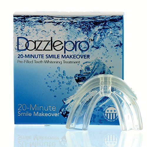 The 20-minute Smile Makeover by #Dazzlepro is perfect for anyone who wants to whiten their teeth quickly and easily. The easy to use, preloaded silicon tray whit...