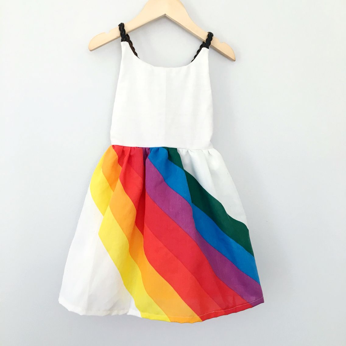 8f1496e9f Vintage rainbow girls dresses from www.pleiadeshandmade.com ...