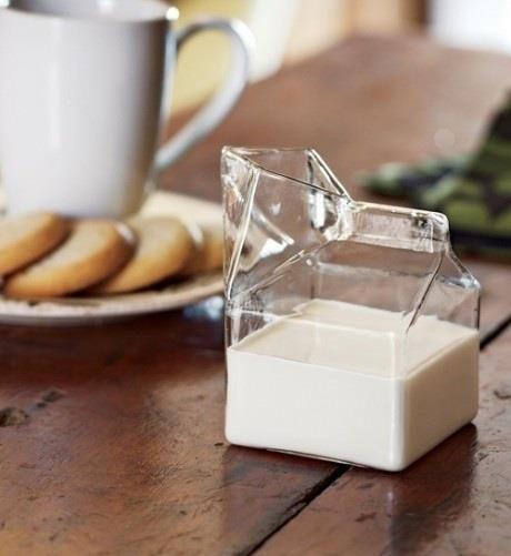 "Glass milk ""carton"""