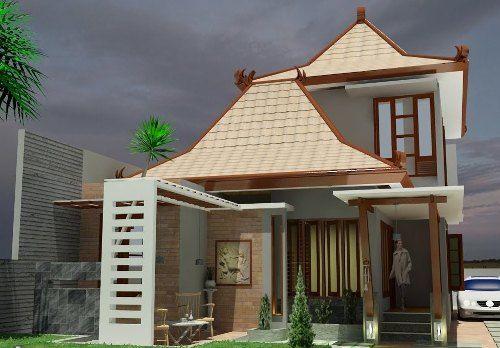 Gambar Rumah Jawa Modern Minimalis Facade House Design Modern