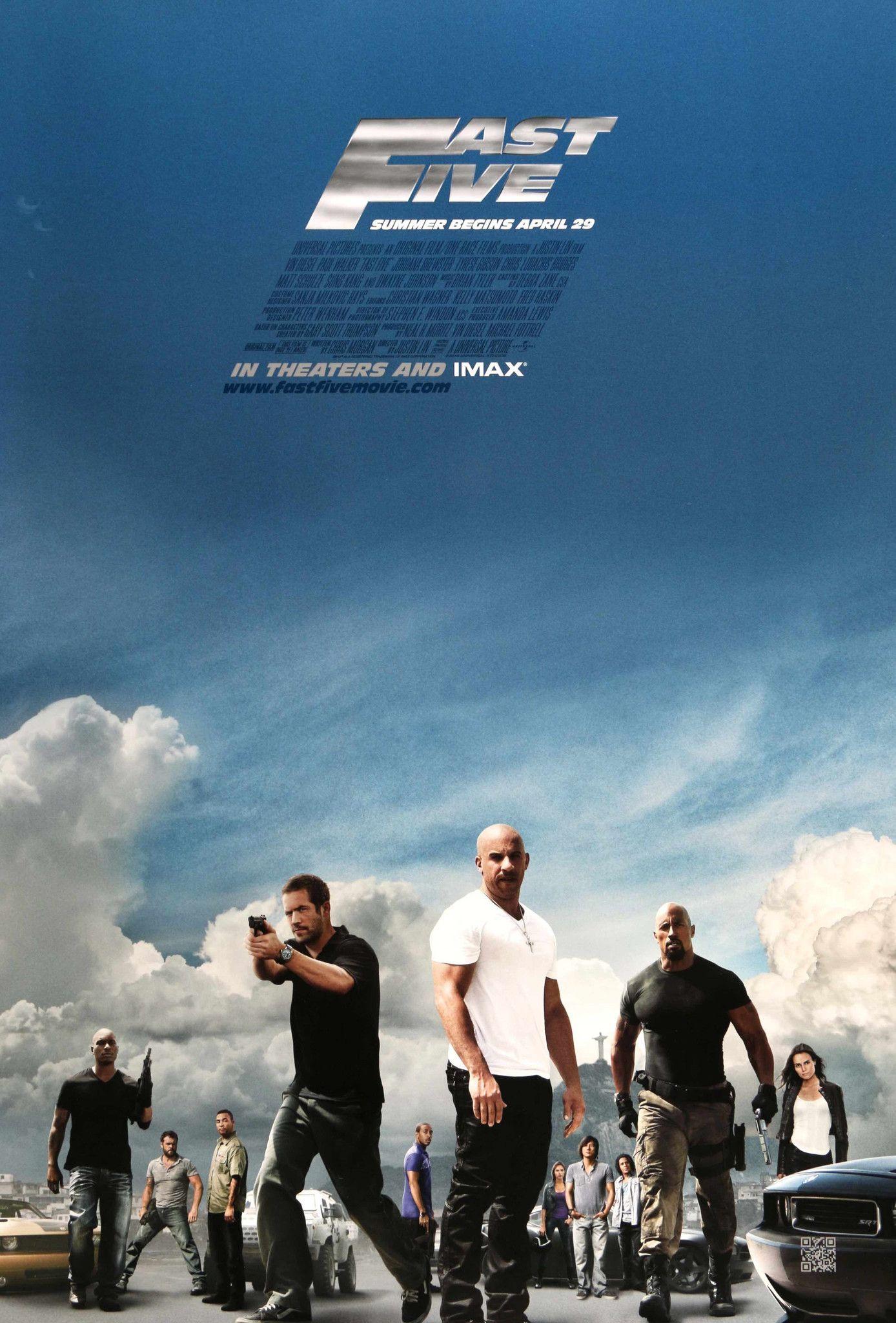 Fast Five (2011) | Fast five, Furious movie, Fast & furious 5