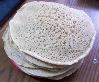 Quick Injera- Ethiopian Flatbread | Penniless Parenting