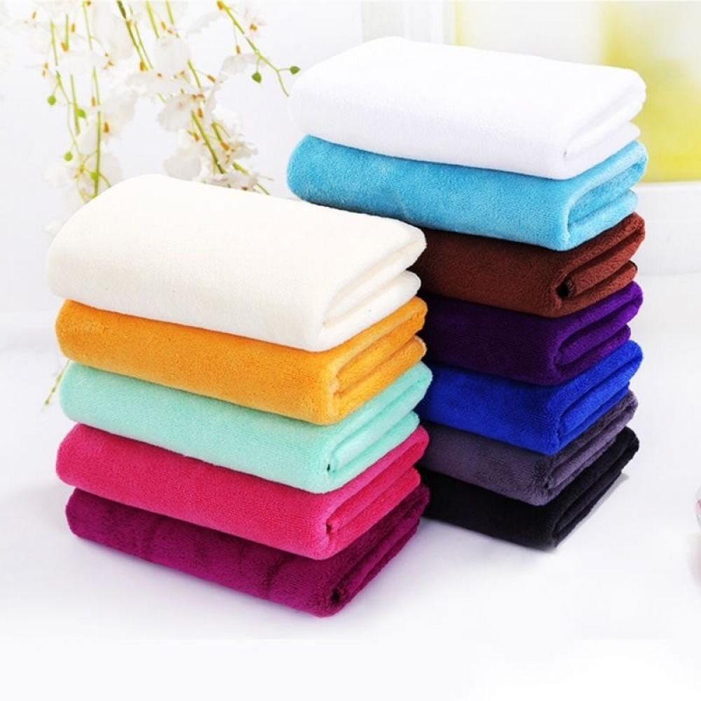 Quick Drying Towel Absorbent Microfiber Beach Thick Bath Towel
