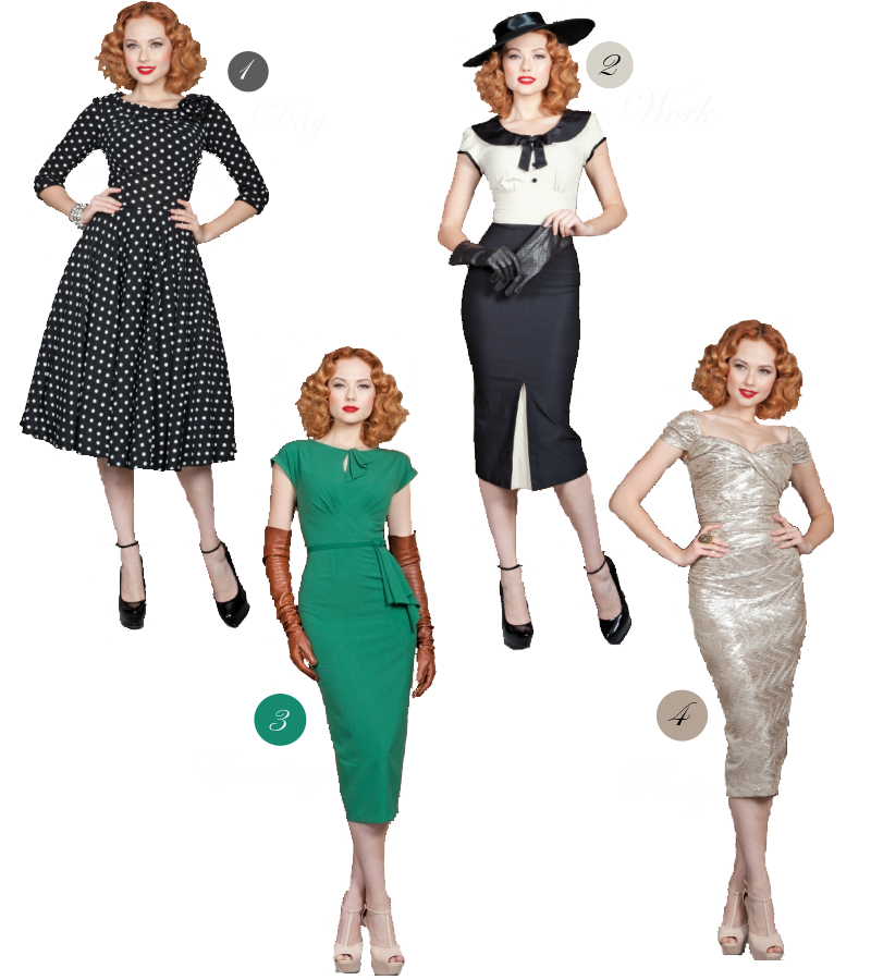 vintage fashion images | vintage silhouettes for modern days ...