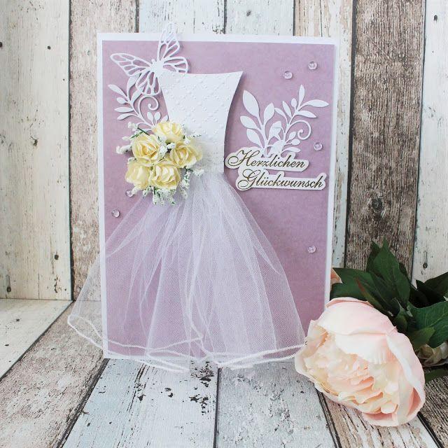 Creative Pages by amaryllis775: Scrapbooking / Hochzeitskarte