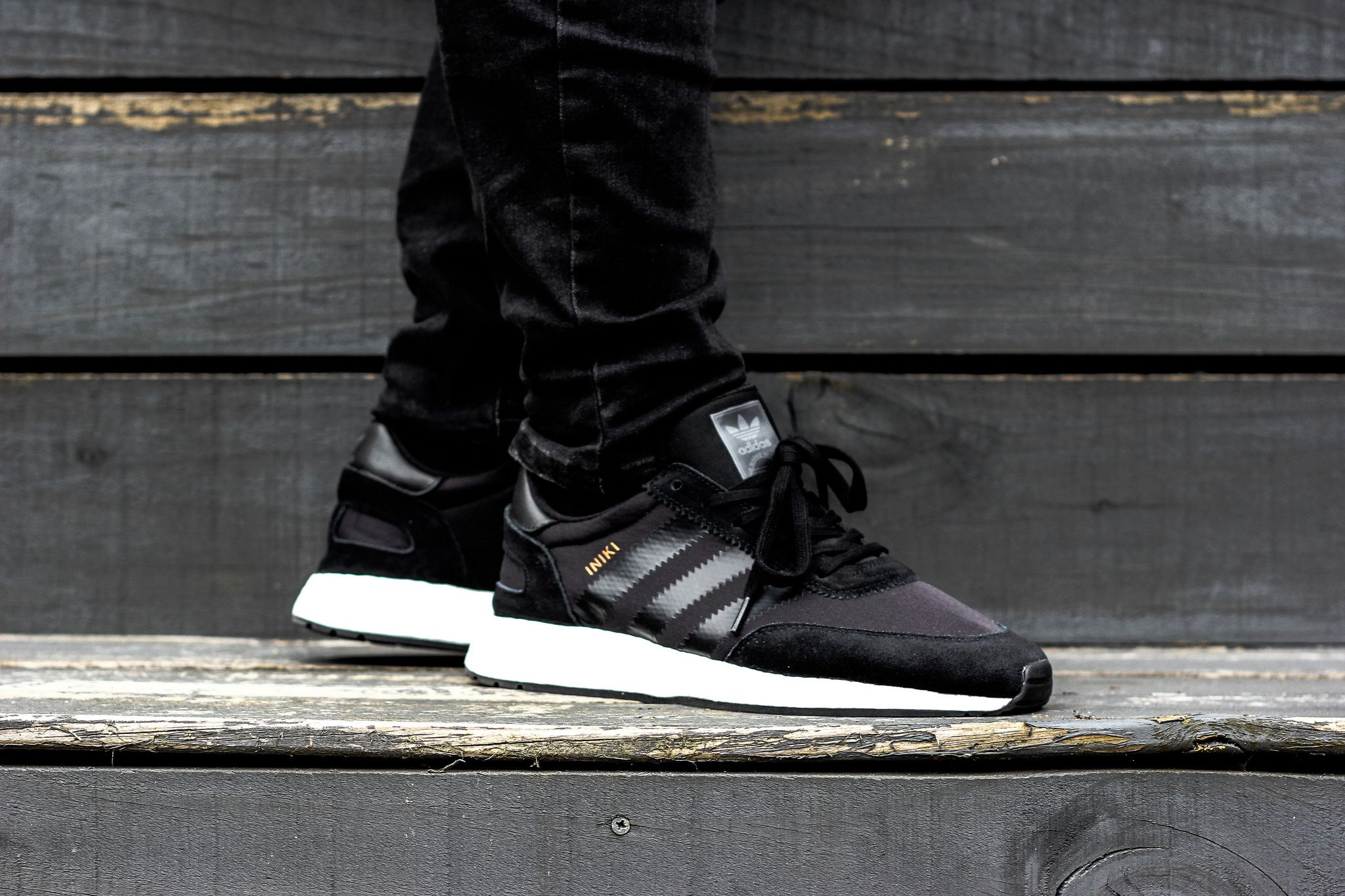 adidas Iniki Runner BOOST (Black) | adidas shoes in 2019