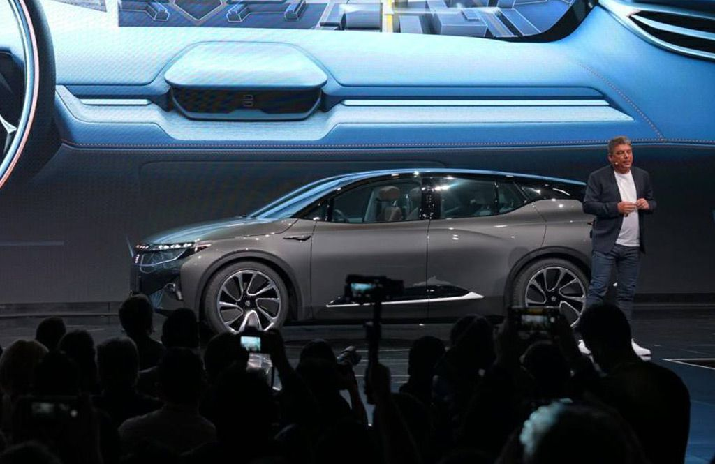 Chinese Electric Car Startup Byton On Sunday Unveil A Concept Model Previewing A Fully Connected Electric Suv Promised For Launc Suv Lowndes County Electricity