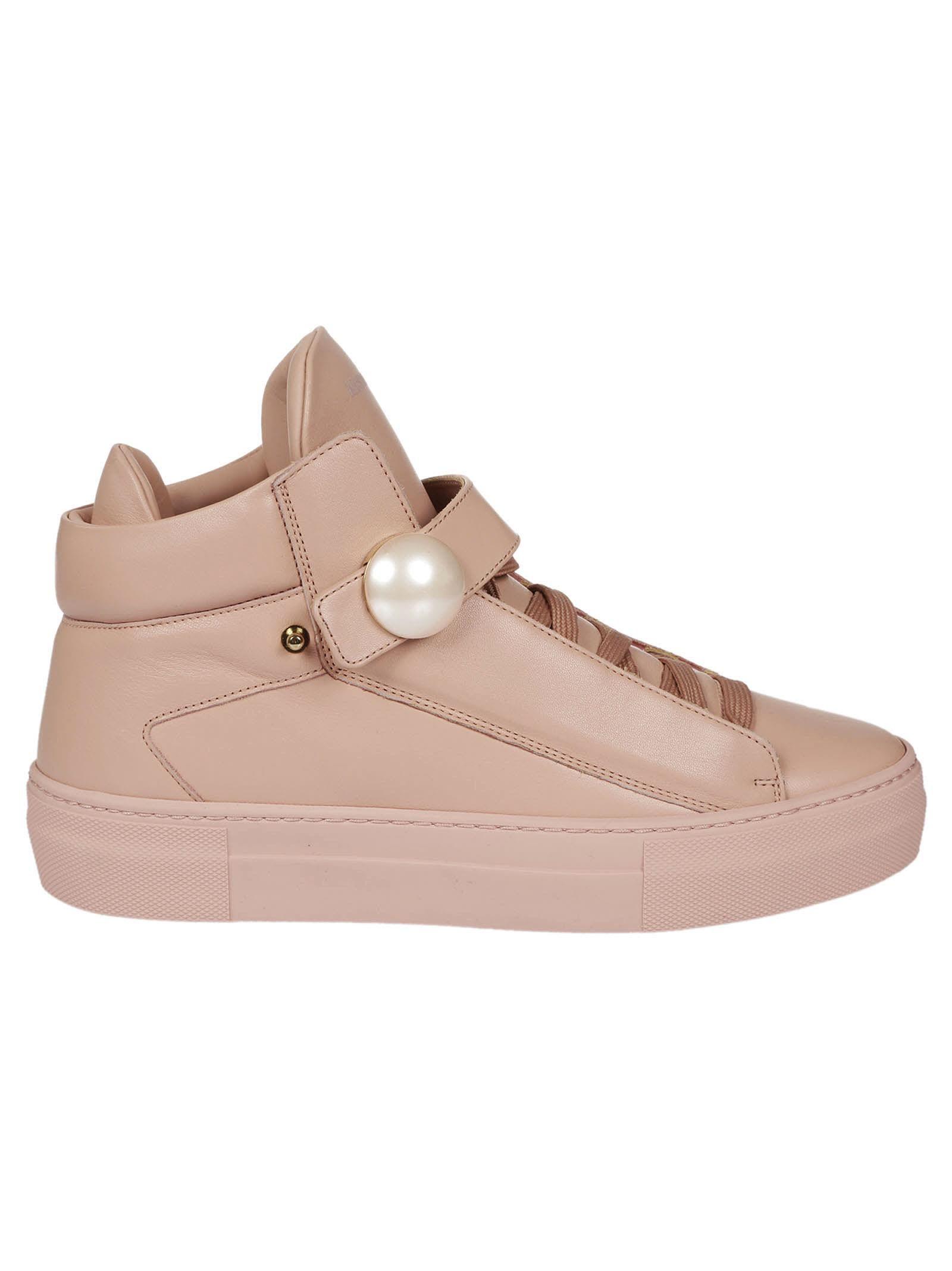 huge discount f1178 03244 NICHOLAS KIRKWOOD PEARL STRAP HI-TOP SNEAKERS.  nicholaskirkwood  shoes