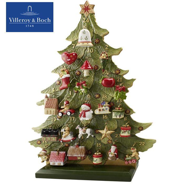 Villeroy Boch Tannenbaum.Villeroy Amp Boch Nostalgic Ornaments Adventskalender 25tlg