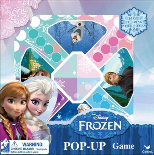 Disney Frozen Pop Up Board Game By Frozen Check This Awesome